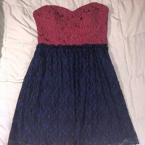 dELiA*s Strapless Mini Dress